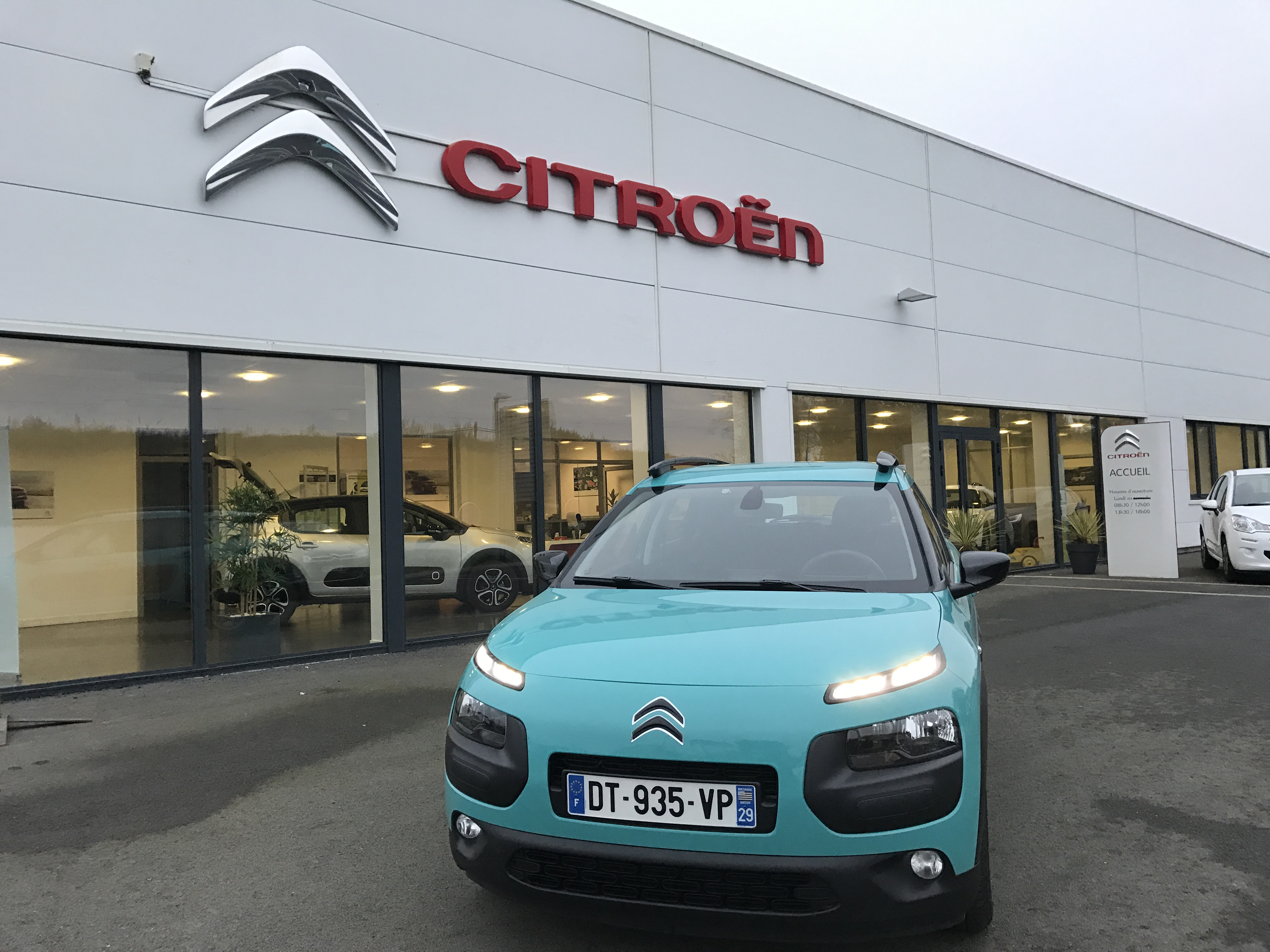 Citro n c4 cactus for Garage citroen c4